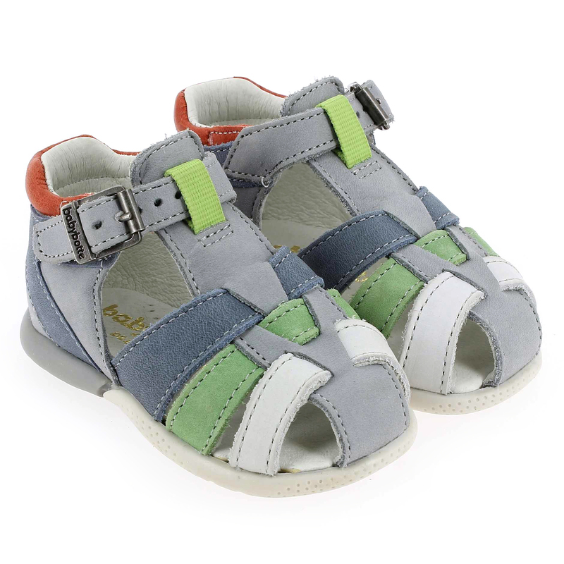 Chaussure Babybotte GALOPIN Gris couleur Gris multi  - vue 0