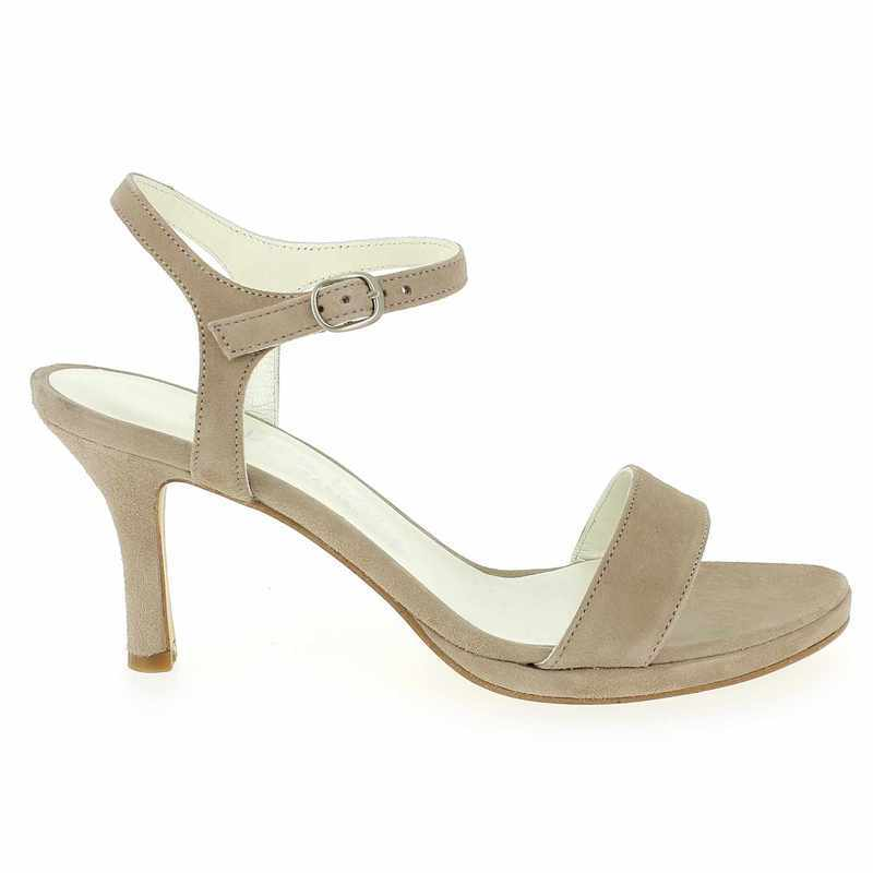 Chaussure Janie Philip GALATEE Beige couleur Taupe - vue 1