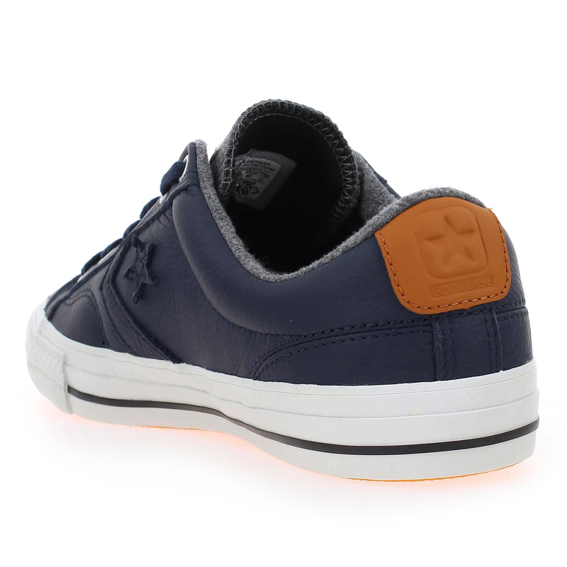 chaussure converse star player letaher bleu 5032801 pour homme jef chaussures. Black Bedroom Furniture Sets. Home Design Ideas