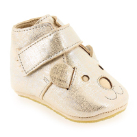 Chaussure Easy Peasy modèle KINY TEDDY, Argent Beige - vue 0
