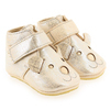 Chaussure Easy Peasy modèle KINY TEDDY, Argent Beige - vue 6