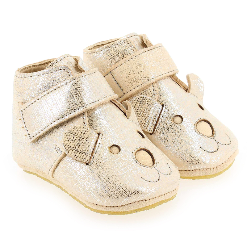 Chaussure Easy Peasy KINY TEDDY Beige couleur Argent Beige - vue 0