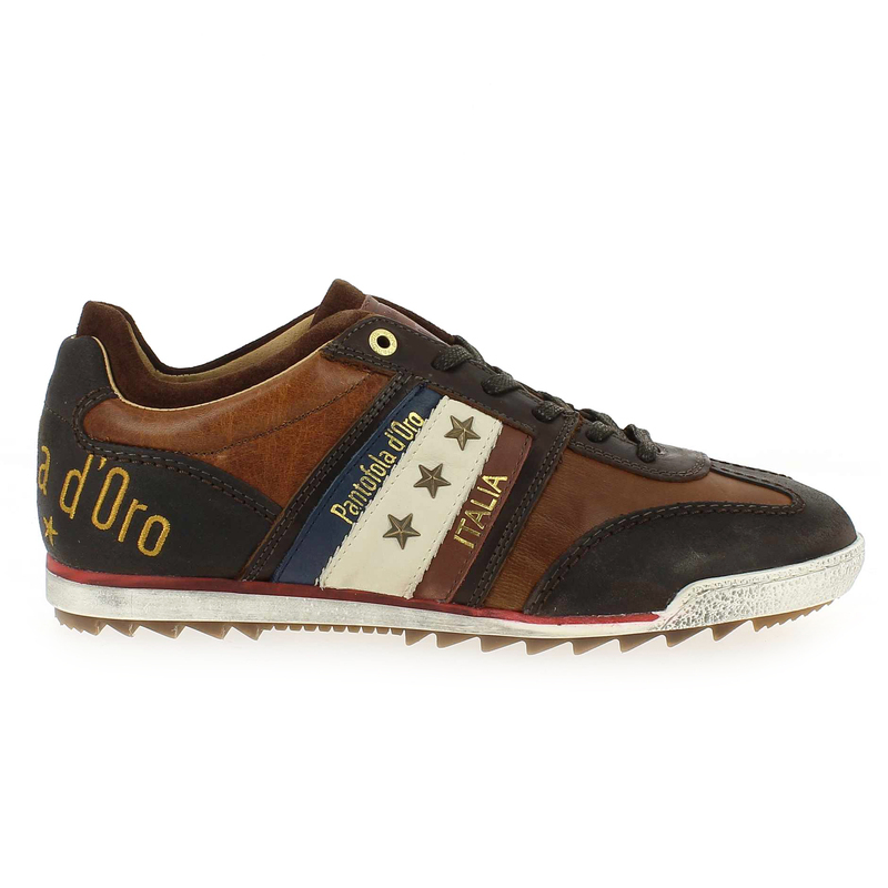 Chaussure Pantofola d'Oro ASCOLI GRIP LOW MEN Marron couleur Marron - vue 1