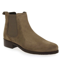 Chaussure We Do modèle 77545C, Velours Taupe - vue 0
