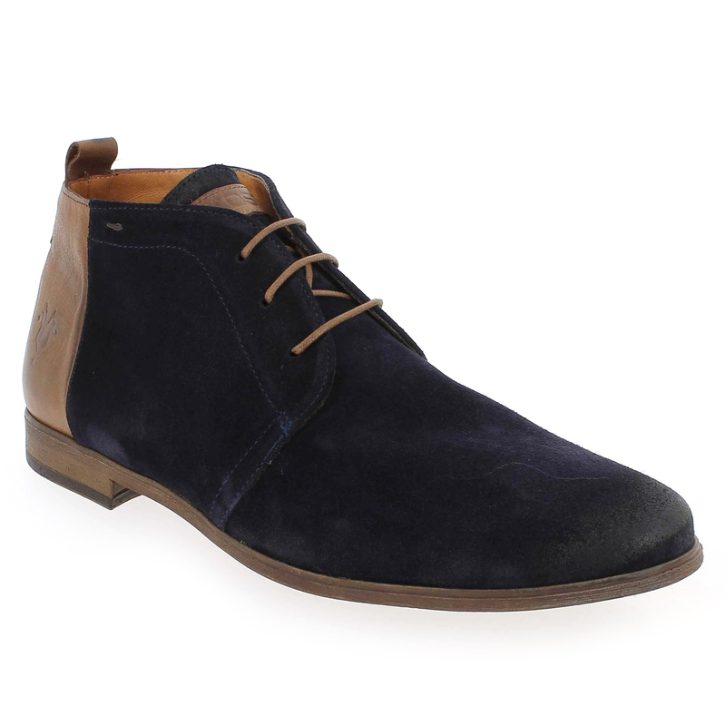 Marques Chaussure homme Kost homme Zepi76 Marine/Cognac