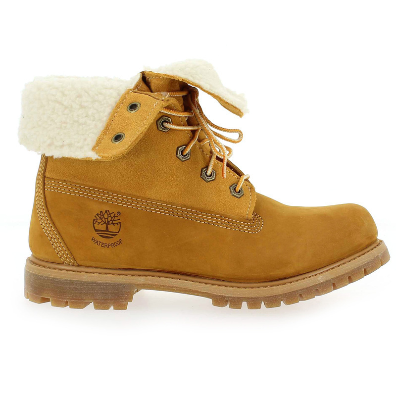 Chaussure Timberland AUTHENTICS TEDDY FLEECE camel couleur Camel - vue 1