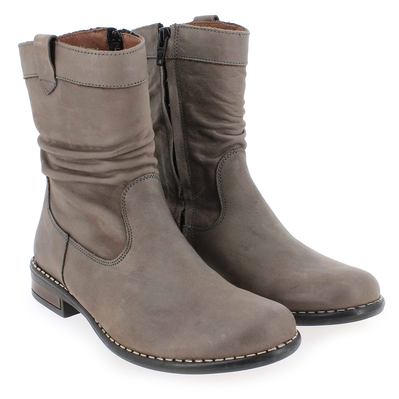 Chaussure Bellamy IRLANDE Gris couleur Taupe - vue 6