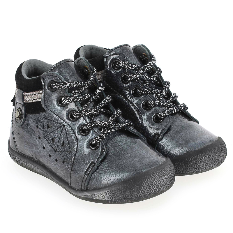 Chaussure Babybotte AMBER Gris couleur Anthracite - vue 0