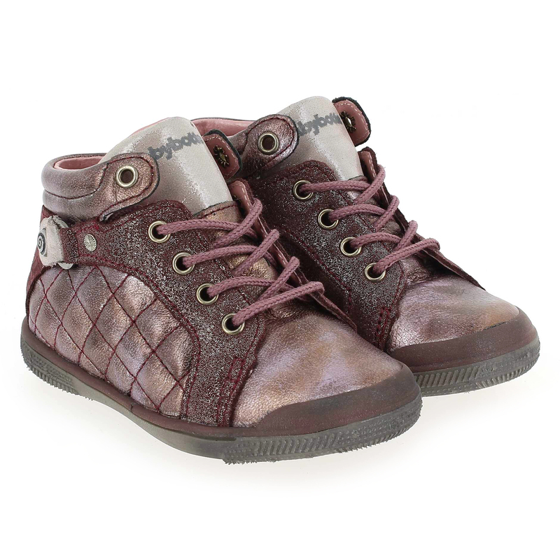 Chaussure Babybotte AOLA Rose couleur Prune - vue 6