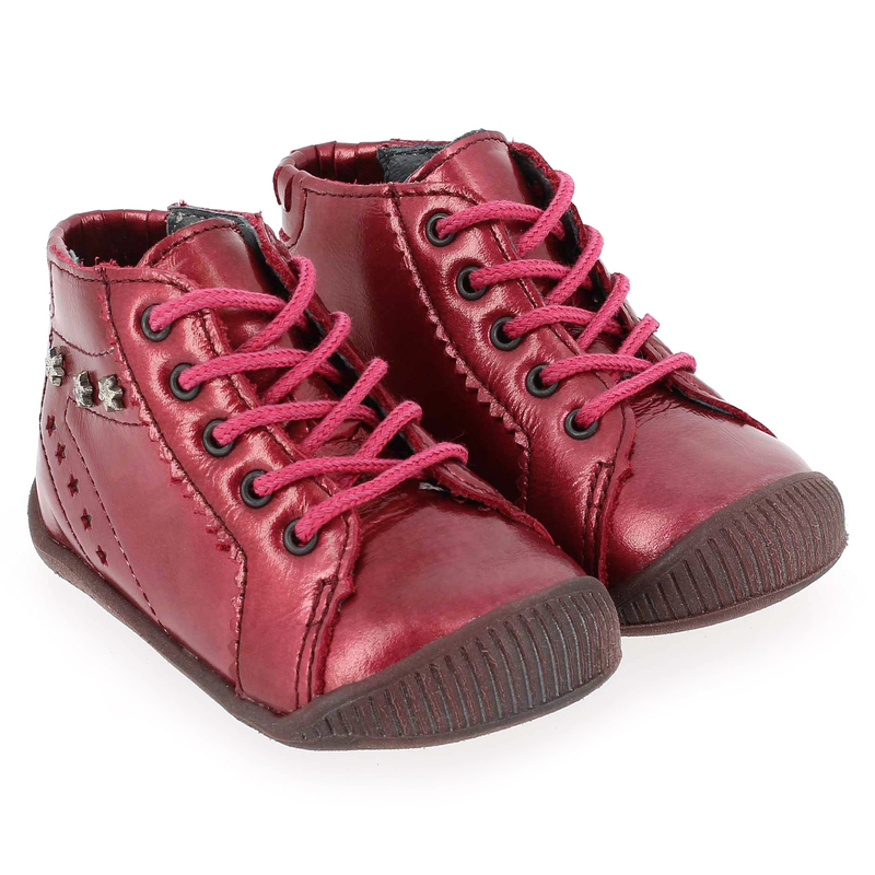 Chaussure Babybotte FELICY Rose couleur Framboise - vue 0