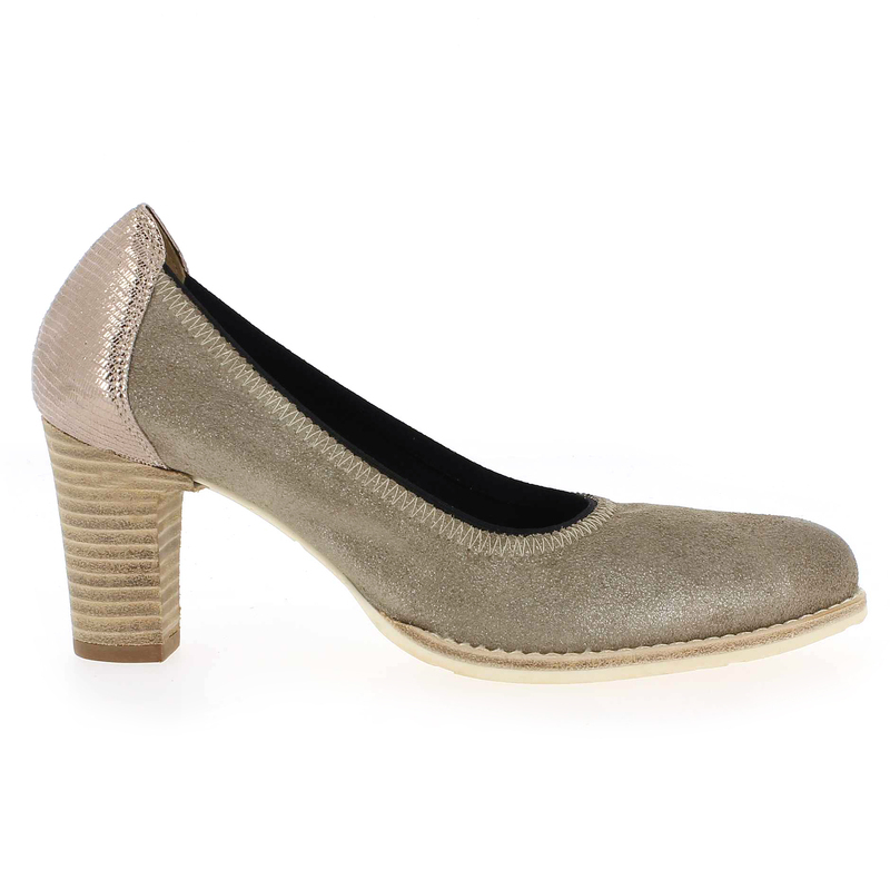Chaussure Myma 937 Marron couleur Taupe - vue 1