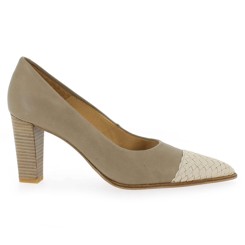 Chaussure Myma 1038 Beige couleur Taupe Beige  - vue 1