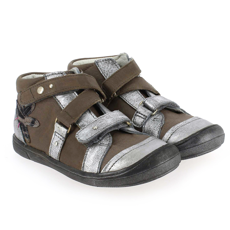 Chaussure GBB LUBNA Argent couleur Argent Taupe - vue 0