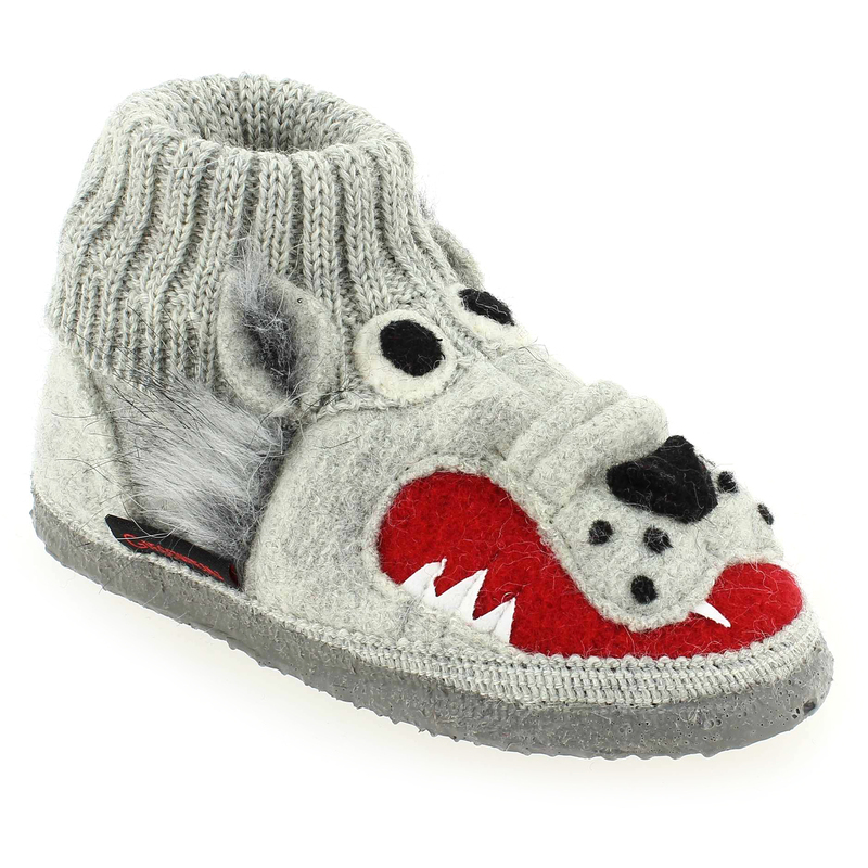 Chaussures Giesswein grises enfant CFxeD