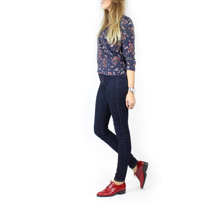 Chaussure Janie Philip CAMILLE Rouge couleur Rouge - vue 8