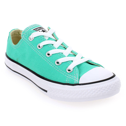 Chaussure Converse modèle ALL STAR OX ENF, Turquoise - vue 0