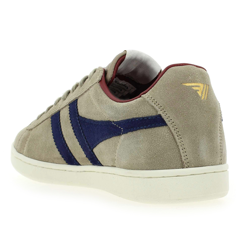 Chaussure Gola EQUIPE SUEDE Gris 5092303 pour Homme