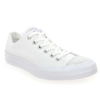 Chaussure Converse modèle CT ALL STAR OX, Blanc Argent - vue 0