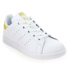 Chaussure Adidas Originals modèle STAN SMITH J, Blanc Or - vue 0