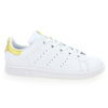 Chaussure Adidas Originals modèle STAN SMITH J, Blanc Or - vue 1