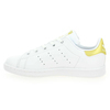 Chaussure Adidas Originals modèle STAN SMITH J, Blanc Or - vue 2