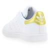 Chaussure Adidas Originals modèle STAN SMITH J, Blanc Or - vue 3