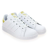 Chaussure Adidas Originals modèle STAN SMITH J, Blanc Or - vue 6