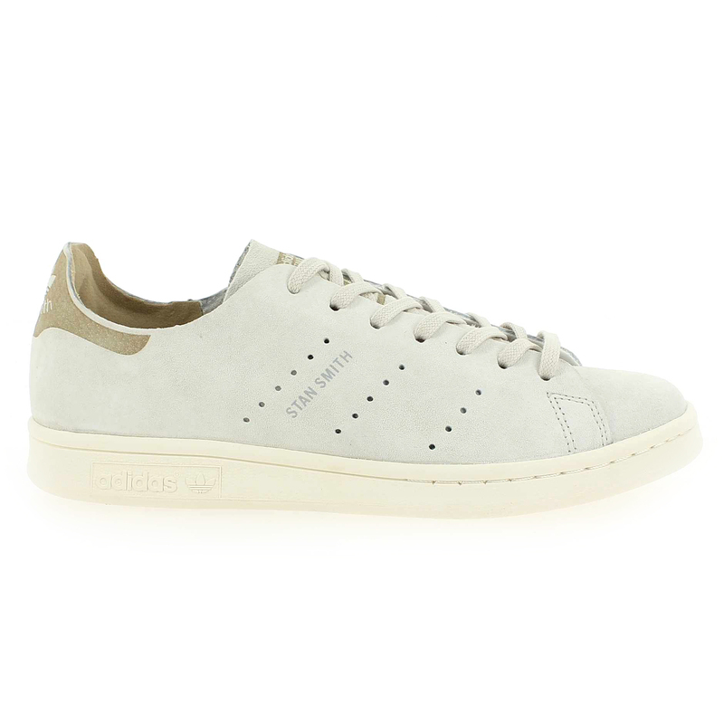 Chaussure Adidas Originals STAN SMITH FASHION Blanc couleur Blanc craie Beige - vue 1