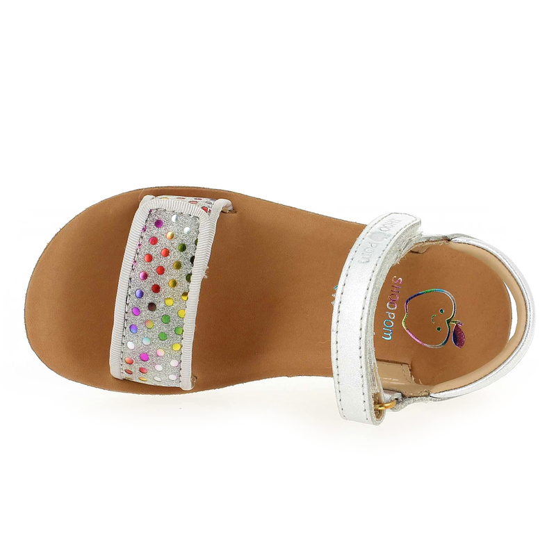 Chaussure Shoopom GOA SCRATCH PIPING Multi 5197401 pour Enfant fille
