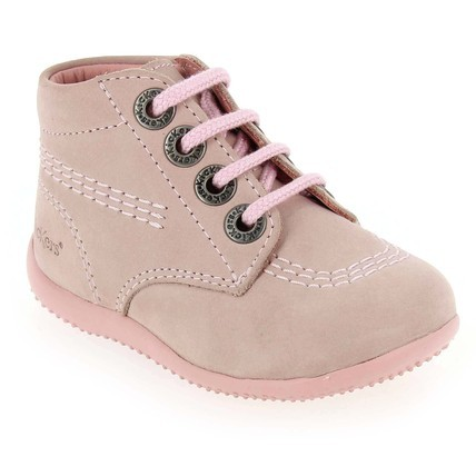 Chaussure Kickers modèle BILLY, Rose pastel - vue 0