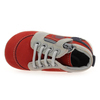 Chaussure Kickers modèle BAMBY, Rouge Gris - vue 4