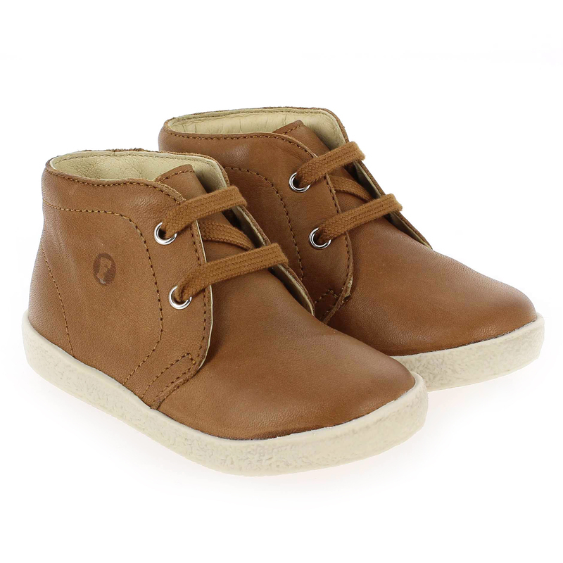 Chaussure Falcotto by Naturino 1195 camel couleur Cognac - vue 0