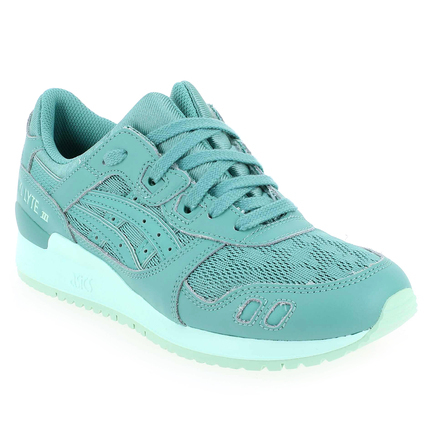 Chaussure Asics modèle GEL LYTE III, Turquoise - vue 0