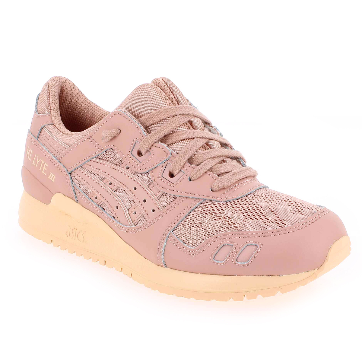 Asics GEL LYTE III Rose pastel Femme Baskets Mode 52351 02