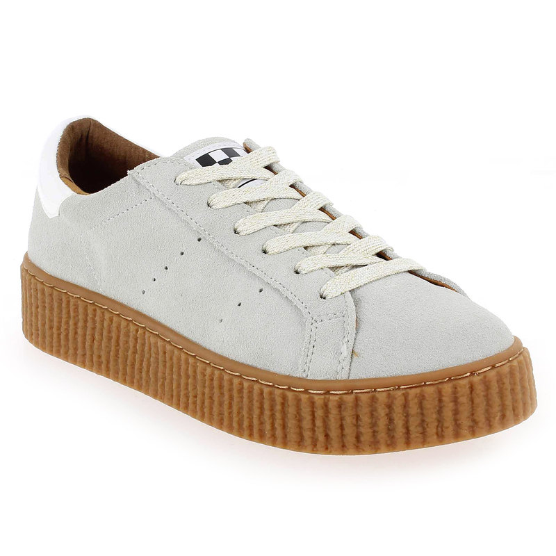 No Name PICADILLY SNEAKER Blanc - Chaussures Baskets basses Femme