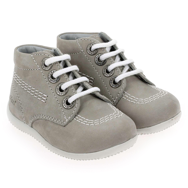 Chaussure Kickers BILLY gris couleur Gris - vue 0