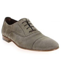 Chaussure Paco Milan modèle 4653 226, Velours Taupe - vue 0