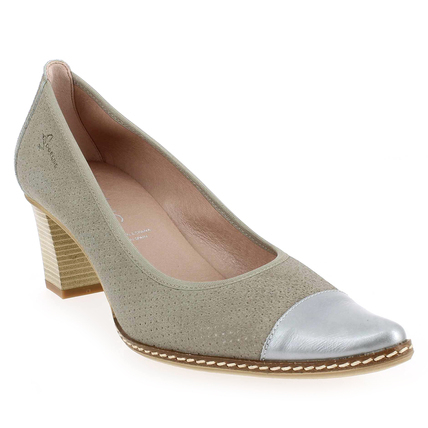 Chaussure Dorking modèle 7148 ABRIL, Velours Taupe - vue 0