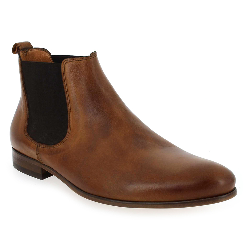Boots Homme Brett and Sons 4126 BETONE camel Homme
