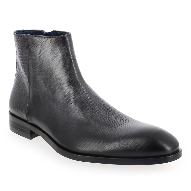 Cuir 4158 143 Brett Gris 5285401 Chaussure Sons Boots And Pour Homme qvOWTa