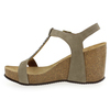 Chaussure Reqins modèle QARLY, Velours Taupe - vue 2