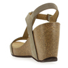 Chaussure Reqins modèle QARLY, Velours Taupe - vue 3