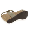 Chaussure Reqins modèle QARLY, Velours Taupe - vue 5