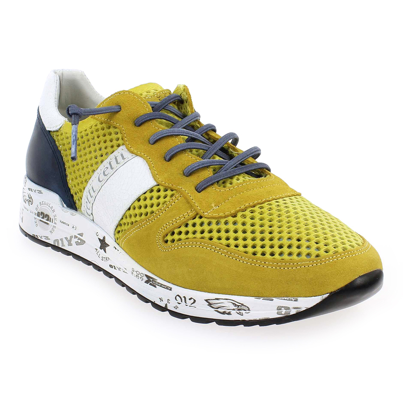 Chaussure Cetti C1082 Jaune 5297803 pour Homme