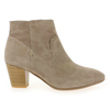 Chaussure Myma modèle 1525MY, Velours Taupe - vue 1