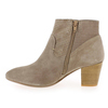 Chaussure Myma modèle 1525MY, Velours Taupe - vue 2