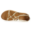 Chaussure Inuovo modèle 7444, Blanc Camel - vue 4