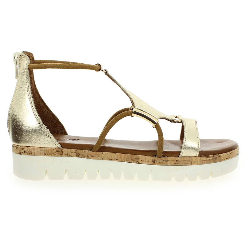 Chaussure Inuovo 7903 Argent couleur Platine - vue 1