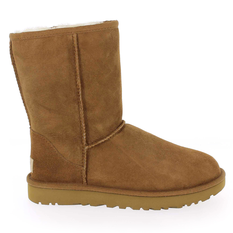 Chaussure UGG CLASSIC SHORT II camel couleur camel - vue 1