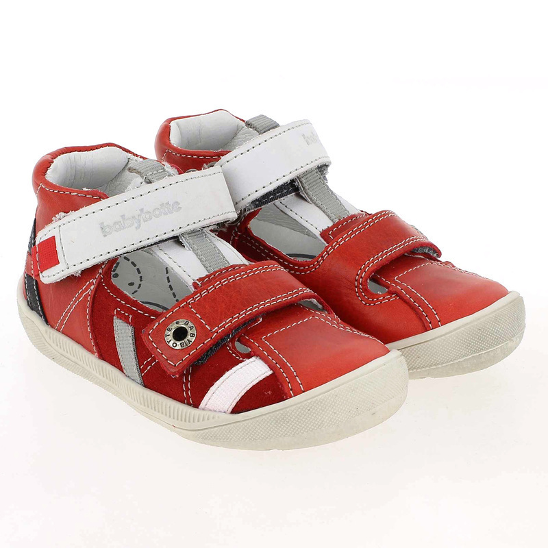 Chaussure Babybotte STYLI Rouge couleur Rouge - vue 0